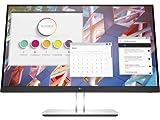 """HP - PC E24 G4 Monitor Business, Schermo IPS FHD 23.8"""", Tempo Risposta 5ms Overdrive, Risoluzione 1920 x 1080, Antiriflesso, Inclinazione/Altezza/Pivot Regolabili, DiplayPort, HDMI, VGA, USB, Argento"""