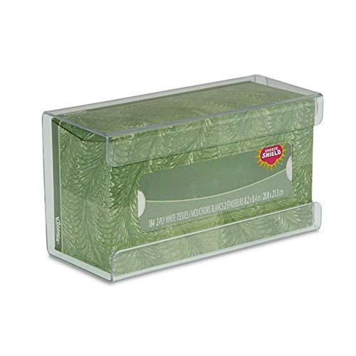 Taschentücher Box Kosmetiktücherbox Wandhalterung Handschuhhalter für Badezimmer, Büro, Schlafzimmer und Mehr