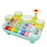 ANIKI TOYS Inteligencia Musical Cubo de Actividad Centro de Juegos de Juguete con Piano Formas Laberinto Engranajes Reloj Juego Educativo y Habilidades Juguetes de Aprendizaje