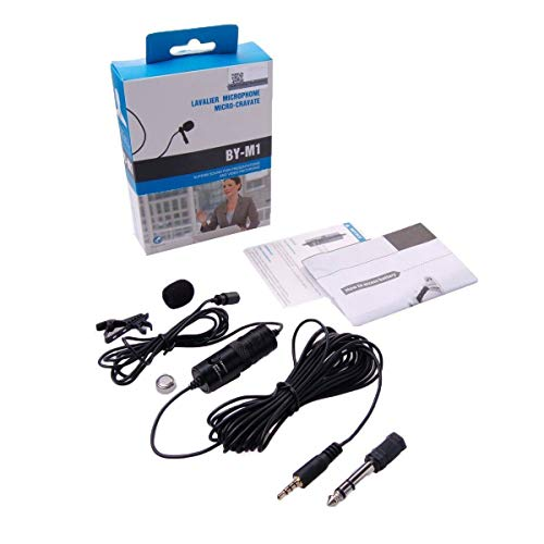 N/A BOYA BY-M1 Microfono Lavalier omnidirezionale per cellulari...