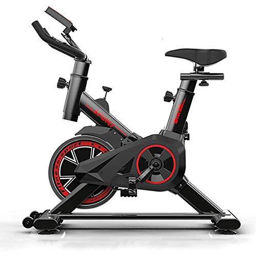 NINGXUE Bicicleta estática,Bicicleta estática Vertical con Pantallas LCD súper silenciosas,...