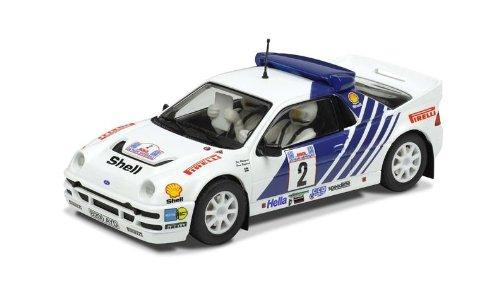 Scalextric - SCA3372A - Radio Commande, Véhicule Miniature - Rallye Groupe B - Les Légendes des Années '80 - Coffret 3 Voitures