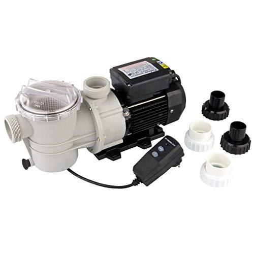 Ubbink Pompe de Piscine 4 Raccords de Tuyau 21600 l/h Pompe de Filtration