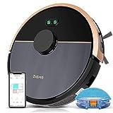Robot Aspirador Zigma 4000Pa, 150Min, con Función de Fregado, Control Alexa&APP&Siri, Apto para 2.4G, para Pelo de Mascotas y Múltiples Suelos