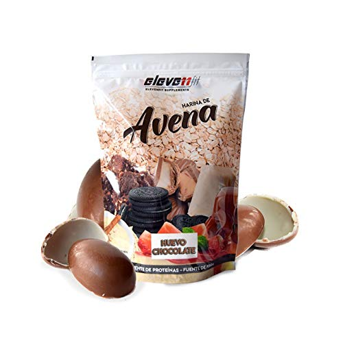 1KG HARINA DE AVENA SABOR HUEVO DE CHOCOLATE