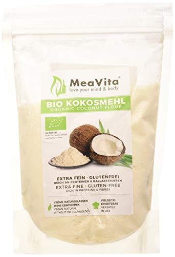 Meavita Meavita Harina De Coco Orgánica, 1 Paquete (1 X 500G) 500 g