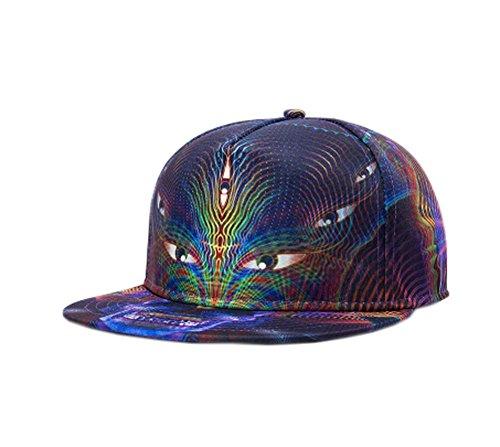 Blancho Individuality Fashion Baseball Cap Hip-Hop Hat (Adjustable,Dark Purple)