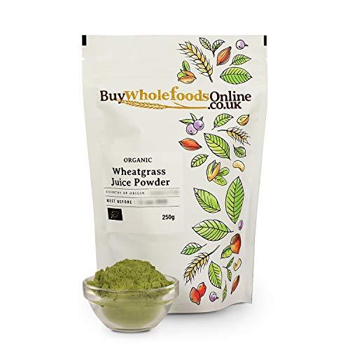 Organic Wheatgrass Juice Powder 250g (Buy Whole Foods Online Ltd.)