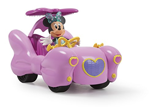 Minnie Mouse- Minnie's Pink Thunder Fashion RC Car Mando a Distancia para Coche, Color Rosa (IMC Toys 184190)