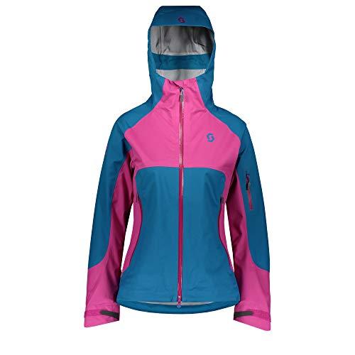 Scott W Explorair 3L Jacket Blau-Lila, Damen Dermizax™ Jacke, Größe L - Farbe Mykonos Blue - Festival Purple