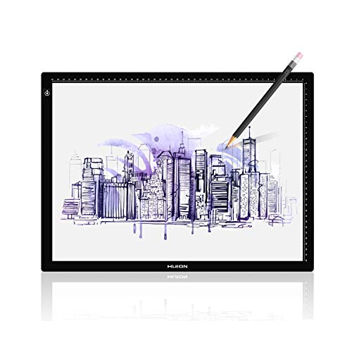 Huion LA3 Portable USB LED Tracing Light Box Dimmable Brightness Tatto Light Pad