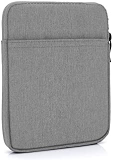 "MyGadget 6"" Nylon Sleeve Case for E-Reader/E-Book/Smartphone - Padded Case with Zip for Amazon Kindle Paperwhite/Voyage/Oa..."
