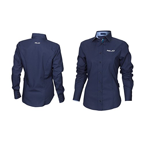 XLC dames Ft-A13 blouse, blauw, L