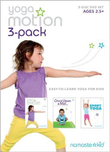 Yoga Motion 3-pack - Kids Yoga DVD 3-disc Set by Lindsay McCoy