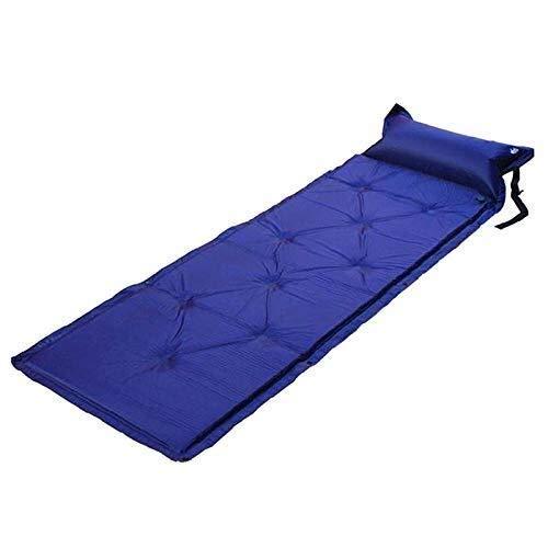 JINKEBIN Bolso para dormir de Autoinflable durmiente del cojín del cojín que acampa con la almohadilla colchón de aire bolsa de picnic en la playa de arena Mat Mat for adultos Camping viajando por sen
