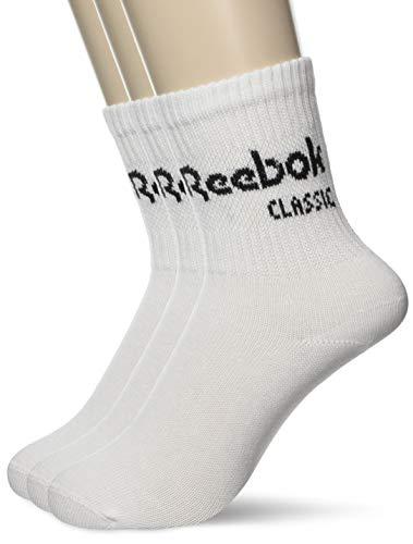 Reebok Socken Dreierpack CL CORE CREW SOCK 3P CZ8013 Weiss, Size:39/42