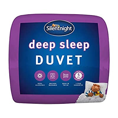 Silentnight Deep Sleep Duvet, 15 Tog, White, King