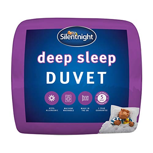 Silentnight Deep Sleep 10.5 Tog Duvet, Microfibre, White, Double