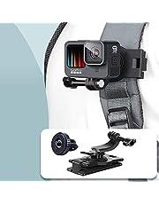 VKESEN Możliwość obracania o 360 stopni, uchwyt na klips do plecaka, kompatybilny z kamerami GoPro Hero 9, 8, 7, Insta360, DJI Osmo Action
