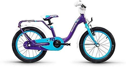S'cool niXe Alloy 16 1-S Kinderfahrrad Kinderrad lilat Blau
