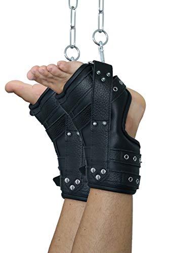 Leder Bondage Fuß Hängefesseln Fußfesseln Expert