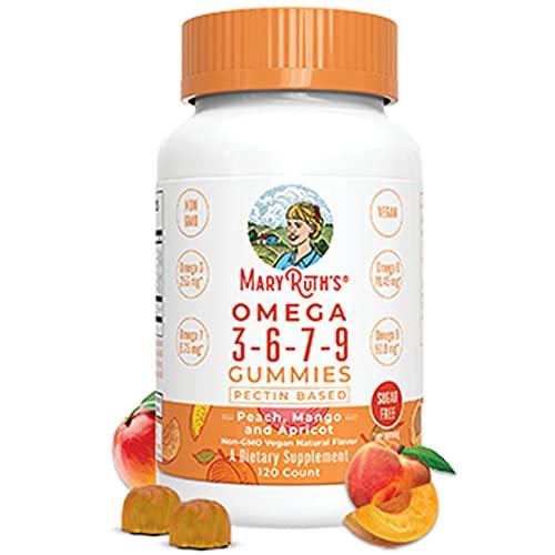 MaryRuth Organics Omega 3-6-7-9 Vegan Gummies