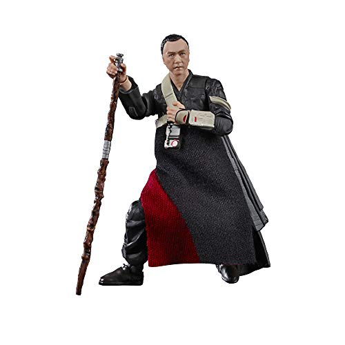 Star Wars The Vintage Collection Chirrut Îmwe Toy, 3.75-Inch-Scale Rogue One: A Story Action Figure, Toys for Kids Ages 4 and Up