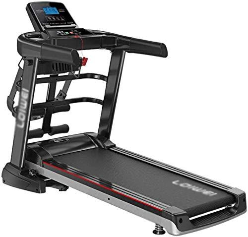 DFGWS, tapis roulant elettrico motorizzato pieghevole 2,5 CHP motore fino a 12,8 km/h, 12 programmi, macchina da passeggio portatile, attrezzatura da palestra per allenamento fitness