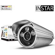 INSTAR IN-5907HD (PoE) schwarz - PoE Überwachungskamera - IP Kamera - wetterfeste Außenkamera - Aussen - Alarm - Eingang - Ausgang - Bewegungserkennung - Nachtsicht - 802.3af - RTSP - ONVIF