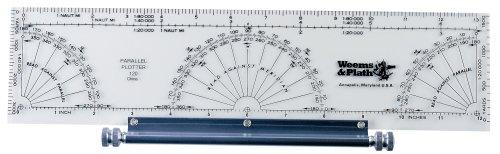 Weems Plath Marine Navigation Parallel Plotter
