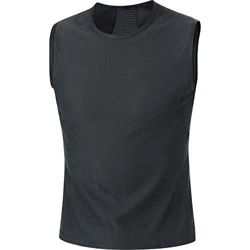 GORE WEAR M Herren Unterhemd, Größe: M, Farbe: Schwarz