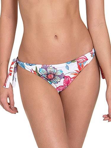 Lisca Bikinislip zum Binden weiß-bunt 40