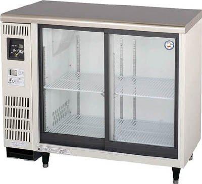 福島工業 スライド扉小型冷蔵ショーケース 207L【TGU40RE】 (販売単位:1台)