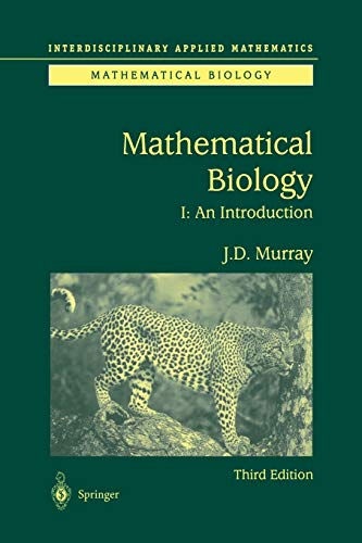 Mathematical Biology: I. An Introduction: 17