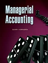 Managerial Accounting by M. Suzanne Oliver (2009-10-14)