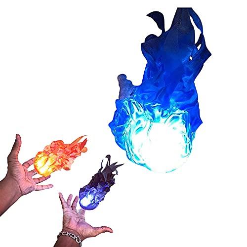 GHDFG Luces de Halloween Bola de Fuego Flotante Prop Llama LED eléctrica Efecto de lámpara de Fuego Falso 3D para decoración de Fiesta de Halloween Suministros de Vacaciones