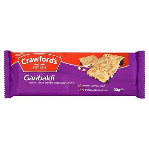 Crawfords Garibaldi - 100g x 8 - 8-er Pack