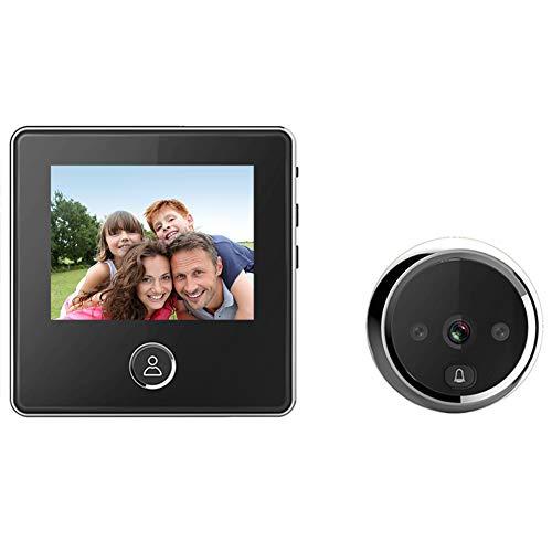 "digitharbor 3"" LCD Screen Digital Door Camera Electronic Door Viewer Bell IR Night vison Door Peephole Camera Photo Recording 120 Degrees Wide View Angle"