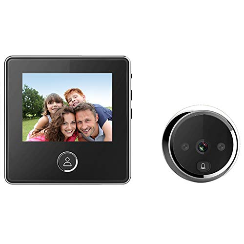 "digitharbor 3"" LCD Screen Digital Door Camera Electronic Door Viewer Bell IR Night vison Door Peephole Camera Photo Recording 120 Degrees Wide View Angle"