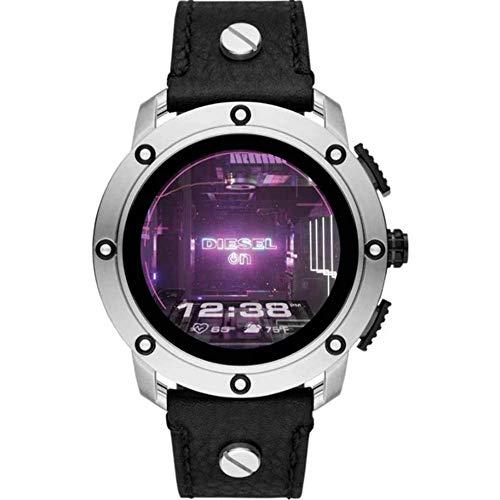 Diesel Smartwatch Pantalla táctil para Hombre de Connected con Correa en Piel DZT2014