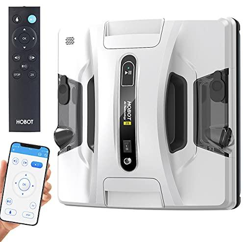 Sichler Exclusive Fensterroboter: HOBOT-2S Profi-Fensterputz-Roboter, Dual-Sprüher,...