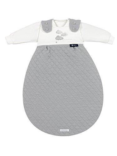 Alvi Baby-Mäxchen 3tlg. Bellybutton Classic Line Dream Grey , Größe:56/62