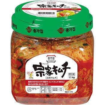 【送料無料】韓国 宗家 白菜 カット キムチ お徳用 950g x 4箱 韓国産 食品 食材 料理 おかず おつまみ 発酵食品