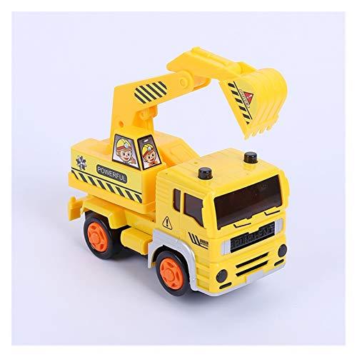 GF Camiones de Basura, Vehículos de construcción, Mezcladores de Cemento, Grúas, Mini Construction Vehicle Engineering Car Dump-Car Dump Modelo de camión GJF (Color : Green)
