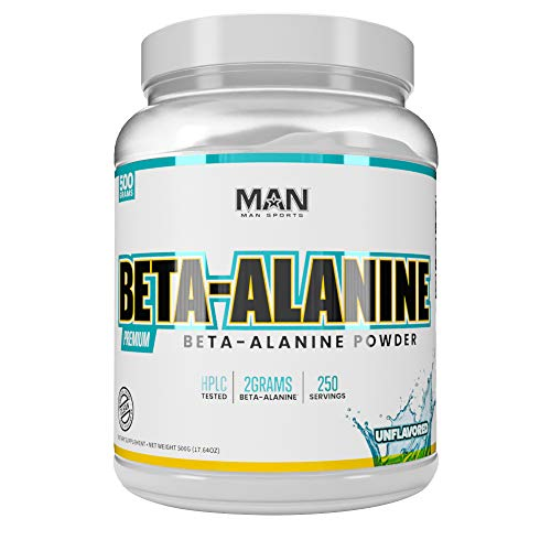 Man Sports Beta-Alanine. Carnosine …