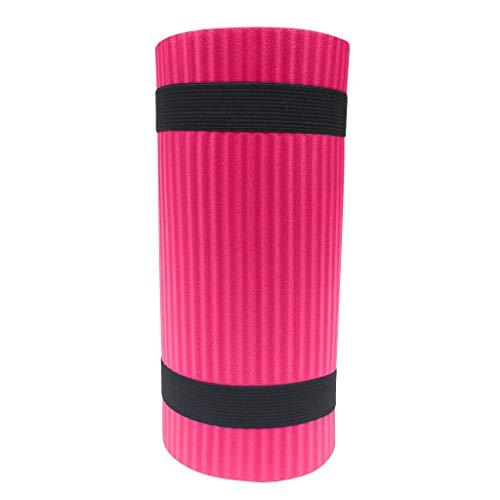 MOTOCO Yoga Knee Pad Pilates Workout Mat Halterung für Hands Wrists Knees Ellenbogenschützer Matten Übungsmatten für Yoga, Knie, Ellenbogen(60X25X1.5CM.Pink)