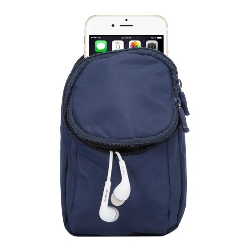 alsatek Nylontasche für Sony Xperia M4Aqua Dual SIM blau
