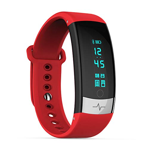 Strong Durable Best Bakeey Sport Style Smart Watch Heart Rate Monitor Breathing Training Message Remind Alarm Clock Smart Watch