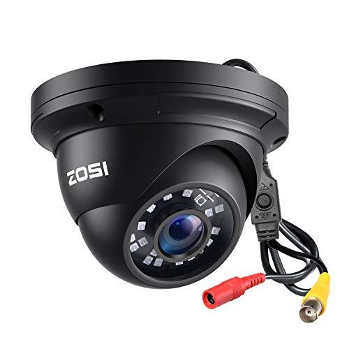 ZOSI 2.0MP HD 1080p 1920TVL Security Camera,Hybrid 4-in-1 TVI/CVI/AHD/960H Surveillance Camera,80ft Night Vision,Indoor Outdoor,Aluminum Housing for 960H,720P,1080P,5MP,4K Home CCTV DVR System
