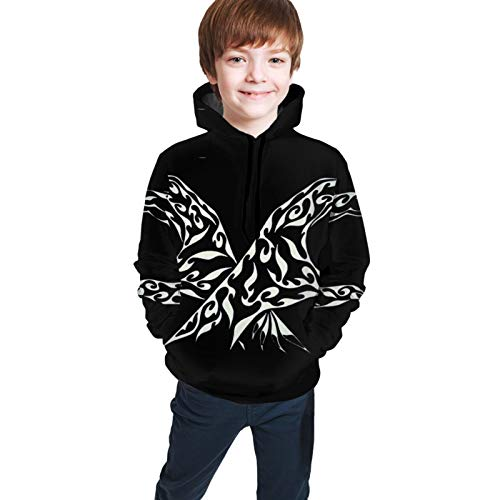 OJPOGHU Les Twins Teen Hooded Sweate Jacket Black Comfortable Classic Boy and Girl Unisex-Baby